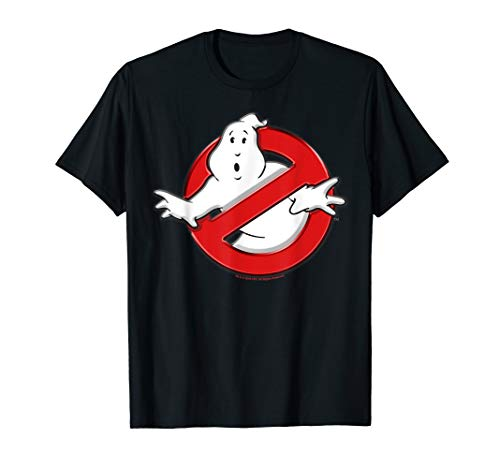 Ghostbusters Classic Movie Logo Poster T-Shirt