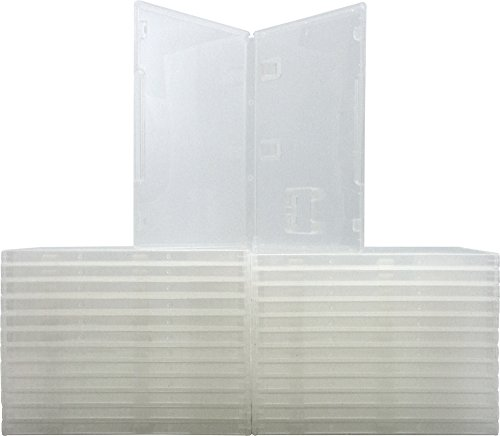 10mm Clear Game Cases - Compatible With Nintendo Switch - 1-Cartridge Capacity - VGBR10SWCL - (25 Cases)