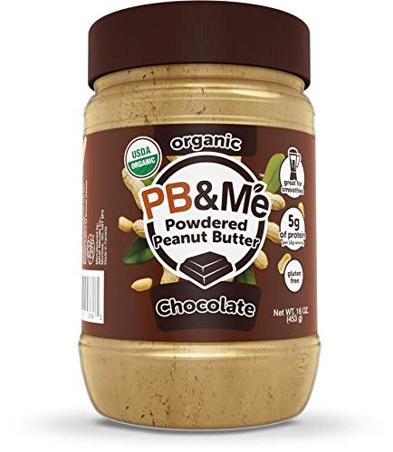 PB&Me Organic Powdered Peanut Butter, Chocolate, 0.453 kg