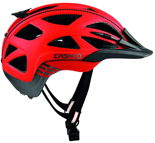 Casco Activ 2 Fahrradhelm - red-Anthracite mat, Kopfumfang:58-62 cm