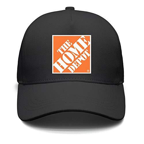 RGRGRFD Mens Womens Dad The-Home-Depot-Orange-Symbol-Logo-Casual Summer Cap Hat