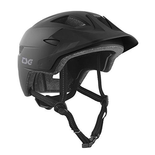 TSG Kinder Cadete Solid Color Helm, Satin Black, XXS/XS