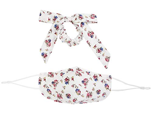 Free People Mask & Bow Floral Pack Ivory One Size
