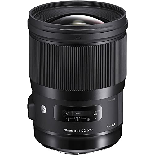 Sigma 28mm f/1.4 Art DG HSM Lens (for Leica/Panasonic L-Mount Cameras)
