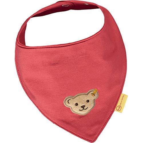 Steiff Baby-Mädchen Halstuch 2er Pack, True RED, One Size