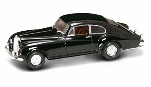 1954 Bentley R-Type Continental w/ Coachwork Franay, Black - Yatming 43212 - 1/43 Scale Diecast Model Toy Car