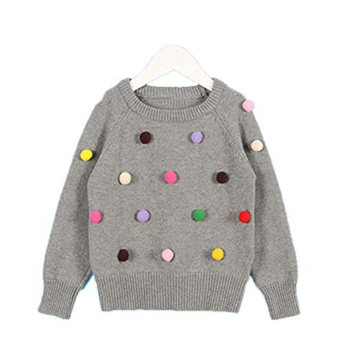 New Spring Children's Clothing 1-5Yrs Children's Sweater Triangle Symbol Kids Pullover Gray 18M