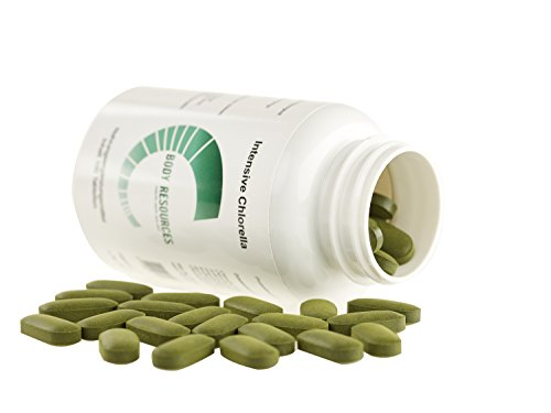 1200mg Chlorella Superfood Algen-Mix aus Vulgaris, Spirulina, Pyrenoidosa