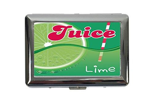 Zigarettenetui Box Nostalgie Limetten Saft Bedruckt