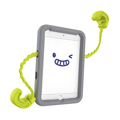 Speck Products Case-E, Fits iPad Mini 4 Case (2019), Case for Kids, Rhino Grey/Citrus Yellow