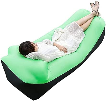 Needenr Outdoor Inflatable Elegant Bed Perfect Chair for Beach Camping Reservation
