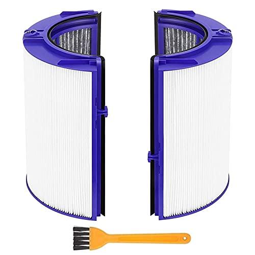 HEPA Pieza de reemplazo del filtro para Dyson TP06 HP06 PH01 PH02 Purificador de aire verdadero HEPA Conjunto de filtros Compare con la Parte 970341-01 Piezas del purificador de aire ( Color : A )