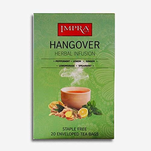 Impra Hangover Herbal Infusion Tea (20 ebvenloped tea bags)