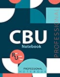 "CBU Notebook, Examination Preparation Notebook, Study writing notebook, Office writing notebook, 140 pages, 8.5"" x 11"", Glossy cover"
