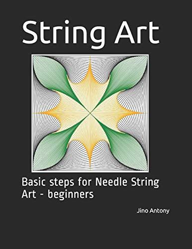 String Art: Basic steps for Needle String Art - beginners