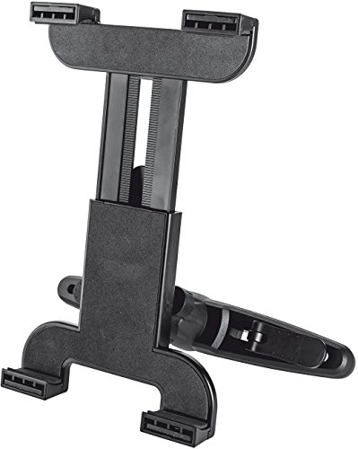 Trust Universal Car Headrest Holder Tablet/UMPC Schwarz Passive Halterung - Halterungen (Tablet/UMPC, Passive Halterung, Auto, Schwarz)