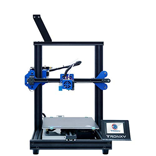XY-2 PRO DIY Desktop 3D Printer, Print Size 255 * 255 * 260mm, 3.5-inch Touch Screen Auto Leveling Filament Runout Detection Power-off Resume Print High Precision Fast Assembly Printer