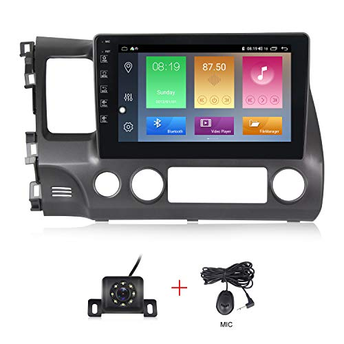 Android 10.0 OS 10 inch Touch Screen Car Radio for 2006 2007 2008 2009 2010 2011 Honda Civic IPS DSP Car Stereo Vehicle GPS Car Multimedia Navigation