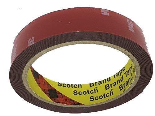 3M 4229P - doppelseitiges Klebeband - Hochleistungsklebeband - Montageklebeband - Tape 20mm x 3 Meter; im wiederverschliessbaren ZIP-Beutel !