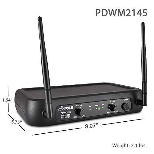 PROFESSIONAL WIRELESS MICROPHONE TRANSMITTER RECEIVER SYSTEM for ACOUSTIC GUITAR