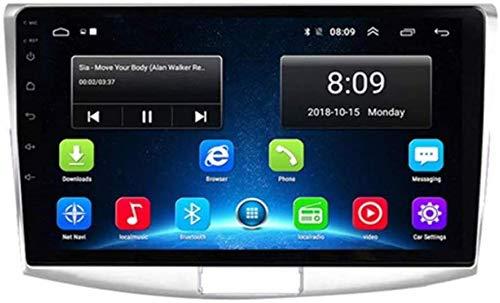 Android 8.1 GPS Navigation Car Radio, Pantalla Pantalla táctil 10'1080P TV Estéreo, para VW Volkswagen Passat B6 / B7 MAGOTAN/CC 2012-2015, Control Volantes Llamadas Manos Libres, 8cores: