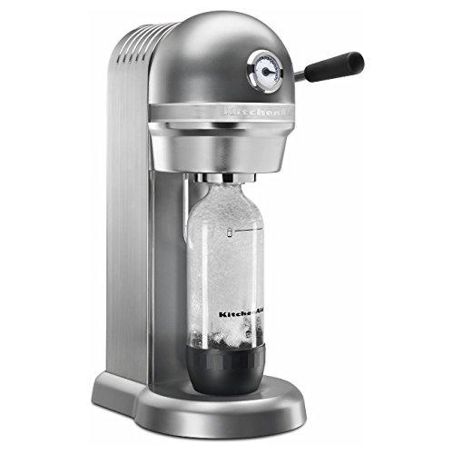 KitchenAid Sparkling Beverage Maker, Contour Silver