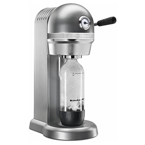 KitchenAid Sparkling Beverage Maker powered by SodaStream - Contour Silver, Contour Silver