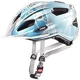 Uvex Quatro Junior Casque de vélo Fille, Bleu, 50-55