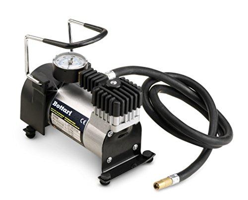 Bottari 24061 Auto-compressor met manometer en aansluiting 12 V sigarettenaansteker