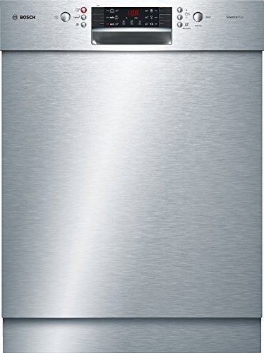 Bosch SMU46CS01E Serie 4 Unterbau-Geschirrspüler / A+++ / 60 cm / Edelstahl / 234 kWh/Jahr / 13 MGD / SilencePlus / Extra Trocknen / VarioBesteckkorb