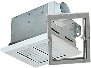 Air King FRAS70 Fire-Rated Exhaust Bath Fan with 70-CFM and 5.0-Sones, White Finish