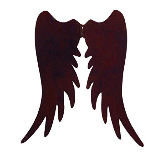 Edelrost Flügel Zum Aufhängen 20 cm Engelsflügel Weihnachten Advent- 1 Stück Flügel groß