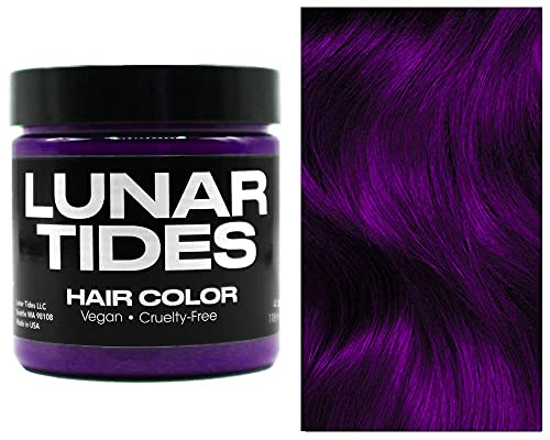 Lunar Tides Haarfärbemittel Semipermanenter Haarfarbstoff Plum Purple Lila