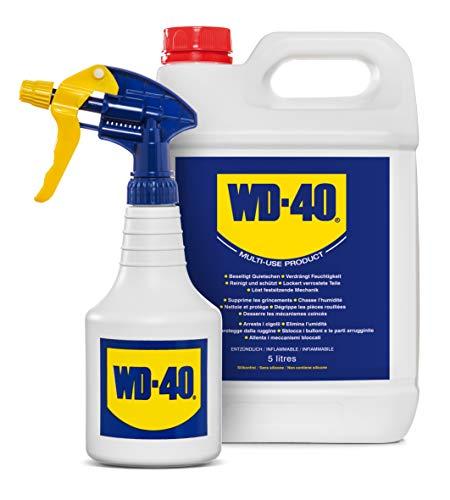 WD-40 MUP 5 LT 49506 Multispray 5L jerrycan INCL. aérosol, Transparent