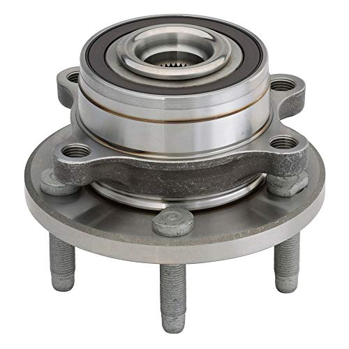 AutoShack HB612462 Wheel Bearing Hub Front Driver or Passenger Side Wheel Hub Bearing and Assembly 5 Lugs with ABS Replacement for 2011-2019 Ford Explorer 2013-2019 Police Interceptor Utility