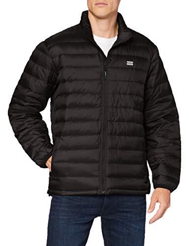 Levi s Presidio Packable Jacket Chaqueta, Mineral Black, XL para Hombre