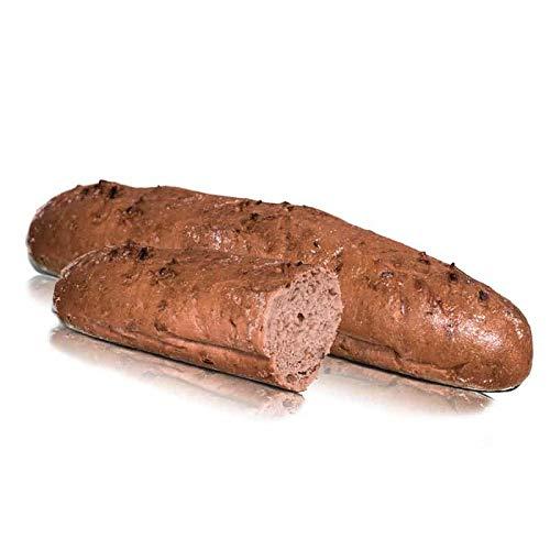 Vestakorn Handwerksbrot, Zwiebelstange 250g - frisches Brot – 13% Röstzwiebeln, selbst aufbacken in 10 Minuten