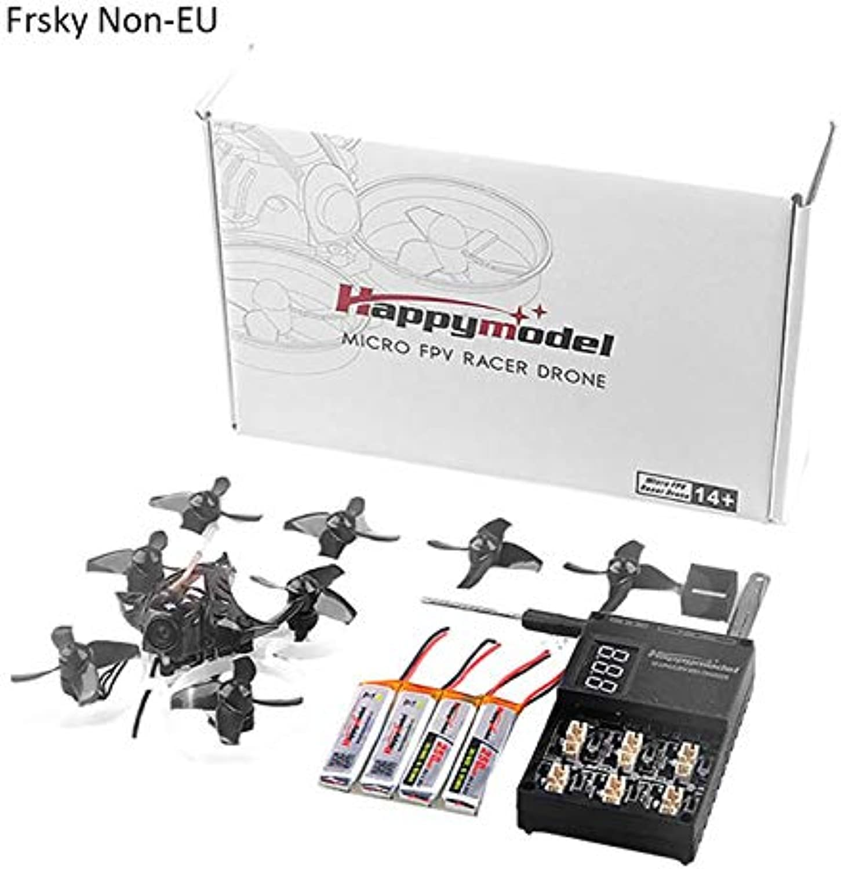 Generic Happymodel Mobula7 75mm 2S Indoor FourAxis Brushless Whoop Racer Drone BNF 0802 Motor Kit Frsky NonEU Standar