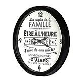 THE HOME DECO FACTORY HD4680 Reloj la Vida en Familia, PP, N