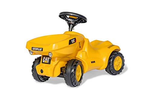 Rolly Toys rollyMinitrac Dumper CAT (für Kinder von 1,5 - 4 Jahre, inklusive Kippschüssel, Flüsterlaufreifen) 132249