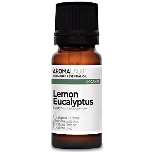 Eucalipto Limón BIO - 10ml - Aceite esencial 100% natural y BIO - calidad verificada por cromatografía - Aroma Labs