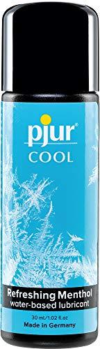 pjur COOL - Kühlendes Gleitgel auf Wasserbasis - mit erfrischendem Menthol für raffinierte Kühle statt einfacher Kälte - 1er Pack (1 x 30 ml)