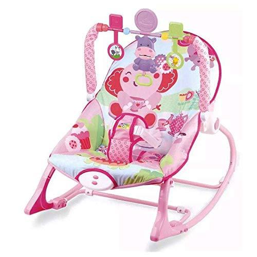 Cadeira Bebê Descanso Musical Vibratória Elefante - Baby Style