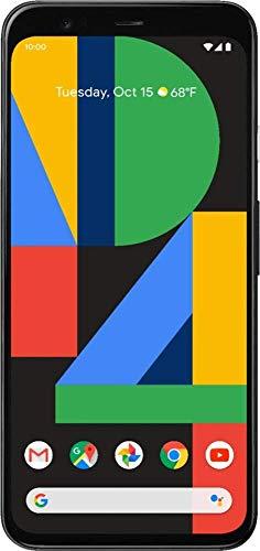 Google Pixel 4 64gb Just Black Verizon Locked (Renewed)