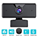 1080P Webcam 【2020 New Version】 Autofocus Full HD Bussiness Web Camera with Dual Digital Microphone USB Computer Camera for PC, Laptop, Desktop, Mac Video Calling, Conferencing, Skype, YouTube (Renewed)