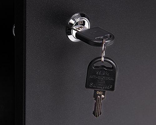 Ondis24 Werkstatteinrichtung 6-teilig Werkbank Werkzeugschrank Werkzeugwand-Lochwand mit Haken + 2x LED Touchlampe - 4