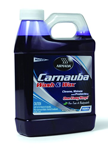 camco rv waxes Camco 40922 - RV Trailer Camper Cleaners Carnauba Wash & Wax 32Oz.