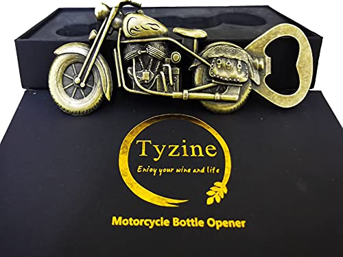 Motorcycle Beer Gifts   Beer Opener  Vintage Motorcycle Bottle Opener  Unique Motorcycle Beer Gifts for Men Great For Wine Lovers Perfect Wine Gift.