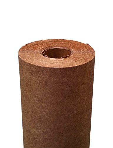 MTK200 | Milchtütenkarton 58m x 130 cm | 1-seitig PE-beschichtet | braun/braun | Abdeckkarton zum Schützen und Abdecken