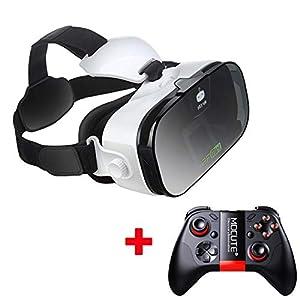 AFGH visore VR VR Occhiali per Realtà virtuale Occhiali 3D Casco Occhiali 4.0-6.4 Pollici Cellulare